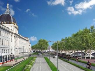 Municipales Grégory Doucet veut réaménager la rive droite du Rhône