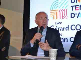 Gérard Collomb présente son programme pour les Métropolitaines