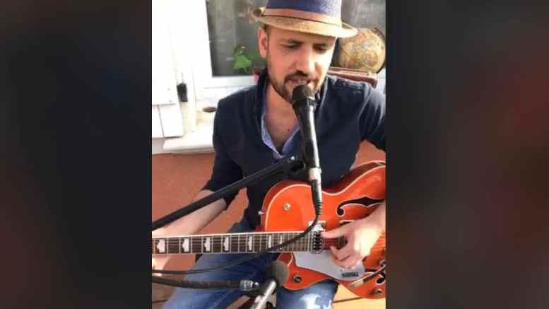 Confinement concert FaceBook Live de Romain Lateltin