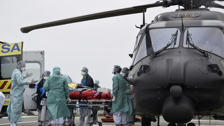 Résilence transport patients par hélicoptère
