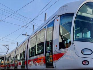 Le Sytral reçoit ses nouvelles de tramway de 43 mètres