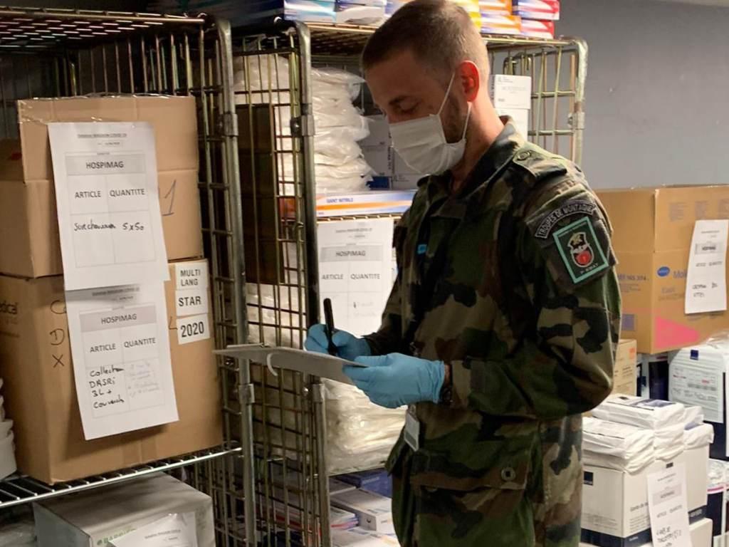 Le 7ème RMAT a activement participé à l'opération résilience dans le cadre de la crise sanitaire liée au coronavirus