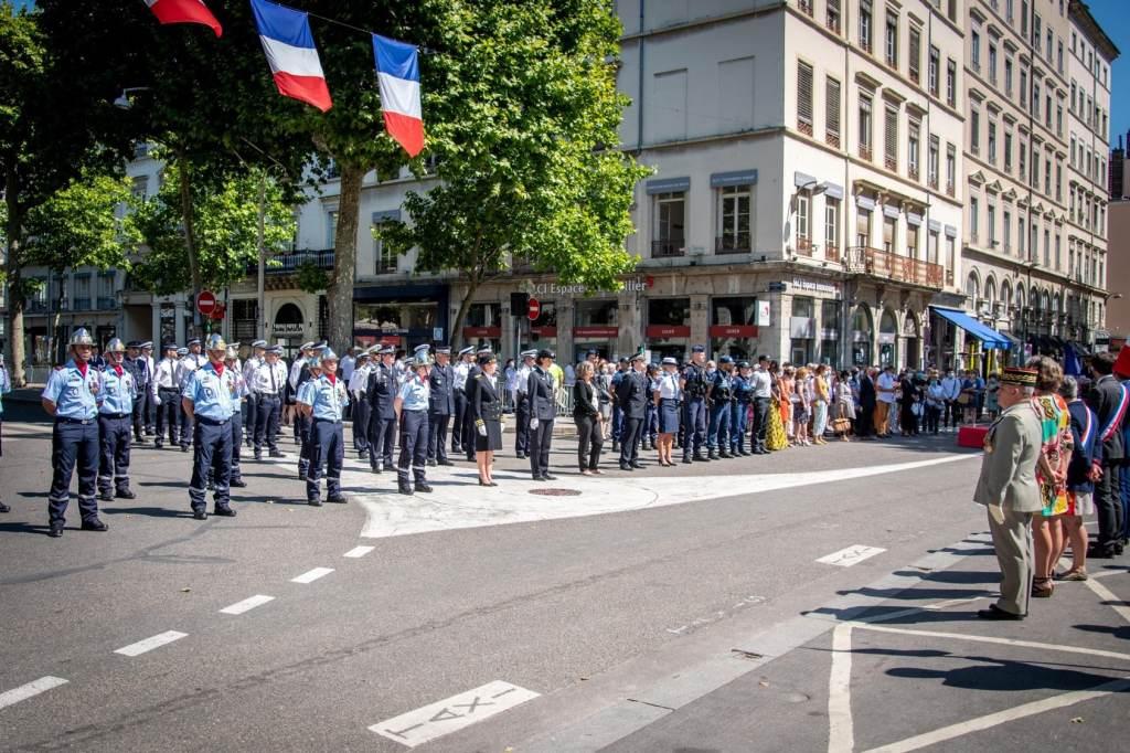Crérémonie sans défilé en 2020 pour la Fête Nationale