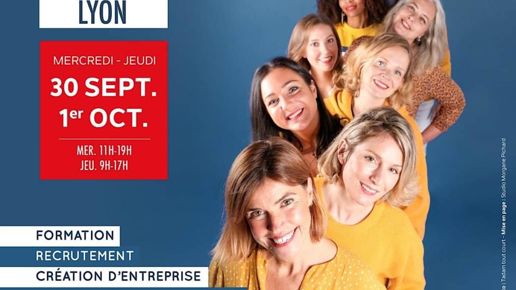 Le salon Profession'L se tient à Lyon pour faciliter la reconversion des femmes