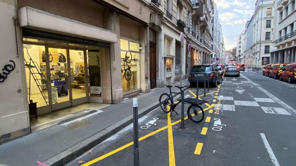 vélos cargos aire de livraison
