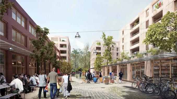 logement projet inclusif Villeurbanne projet L'Autre Soie