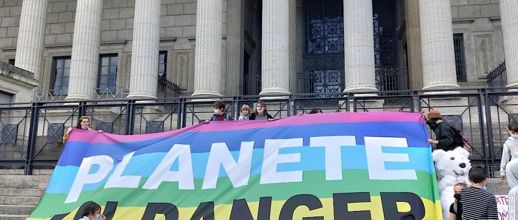 6000 manifestants à Lyon pour le climat ce 9 mai 2021