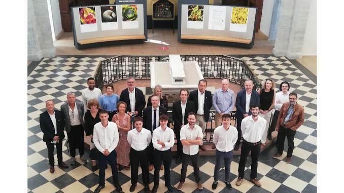 apprentis, équipes et mécènes CFA Gastronomie