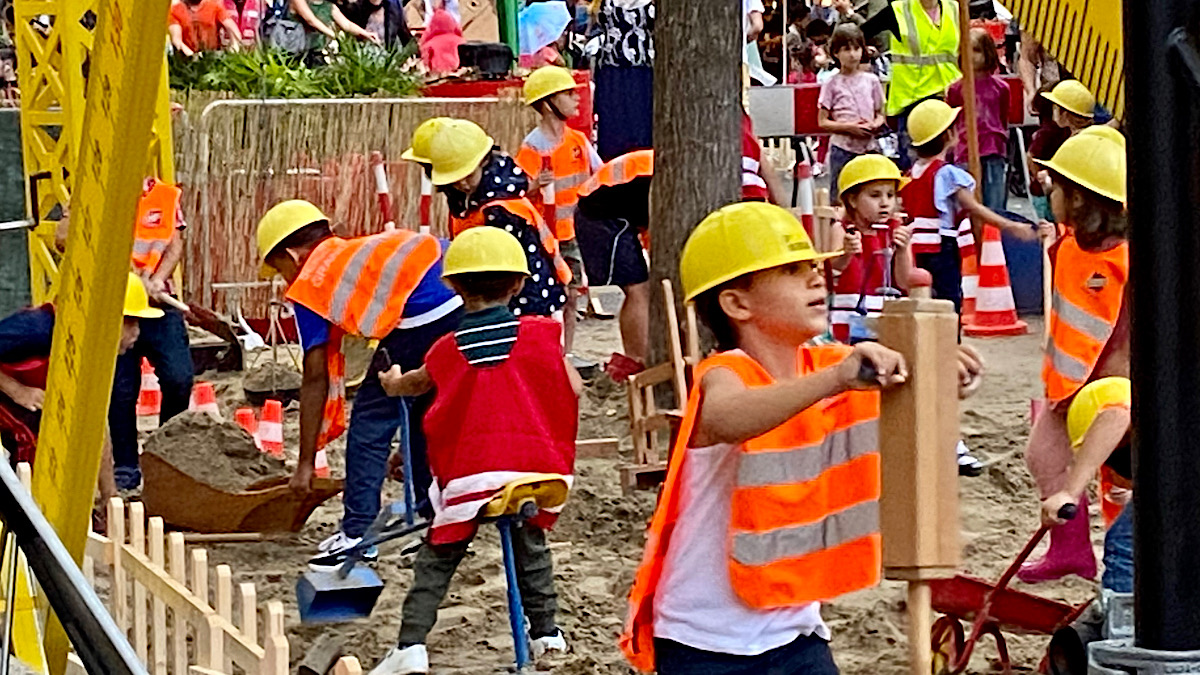 chantier enfants