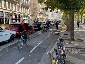 pistes cyclables Lyon