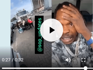 Bike man escaped death after trying to collect money from Naira Marley