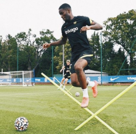 Super Eagles hopeful involved in Chelsea training on Monday as Anderlecht 'consider move'