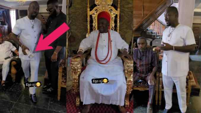 Obi Cubana Offered ChiefTency In Enugu As He Set To Empower 500 YOUTHS In The City