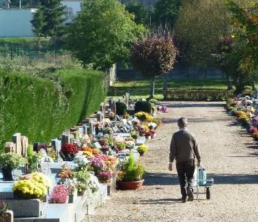 nghĩa trang, lễ toussaint