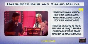 Ehna Akhiyan+Yaar Mangiyasi+Nachda Mixtape lyrics