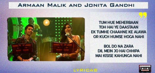 Main Agar Kahoon+Bol Do Na Zara Mixtape lyrics