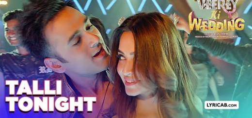 Talli Tonight song lyrics