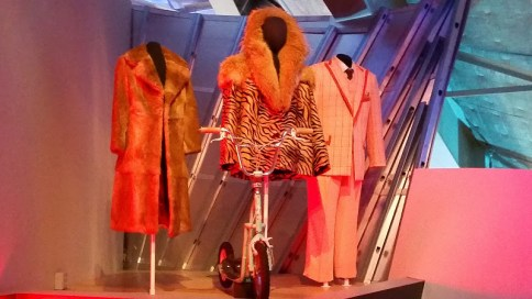 Mackelemore & Ryan Lewis wardrobe in the Spectacle: The Music Video exhibit