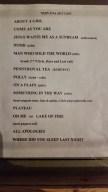 Nirvana set list