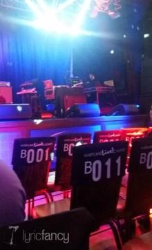 seats at BBD concert