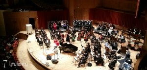 Soulful Symphony on stage before showtime