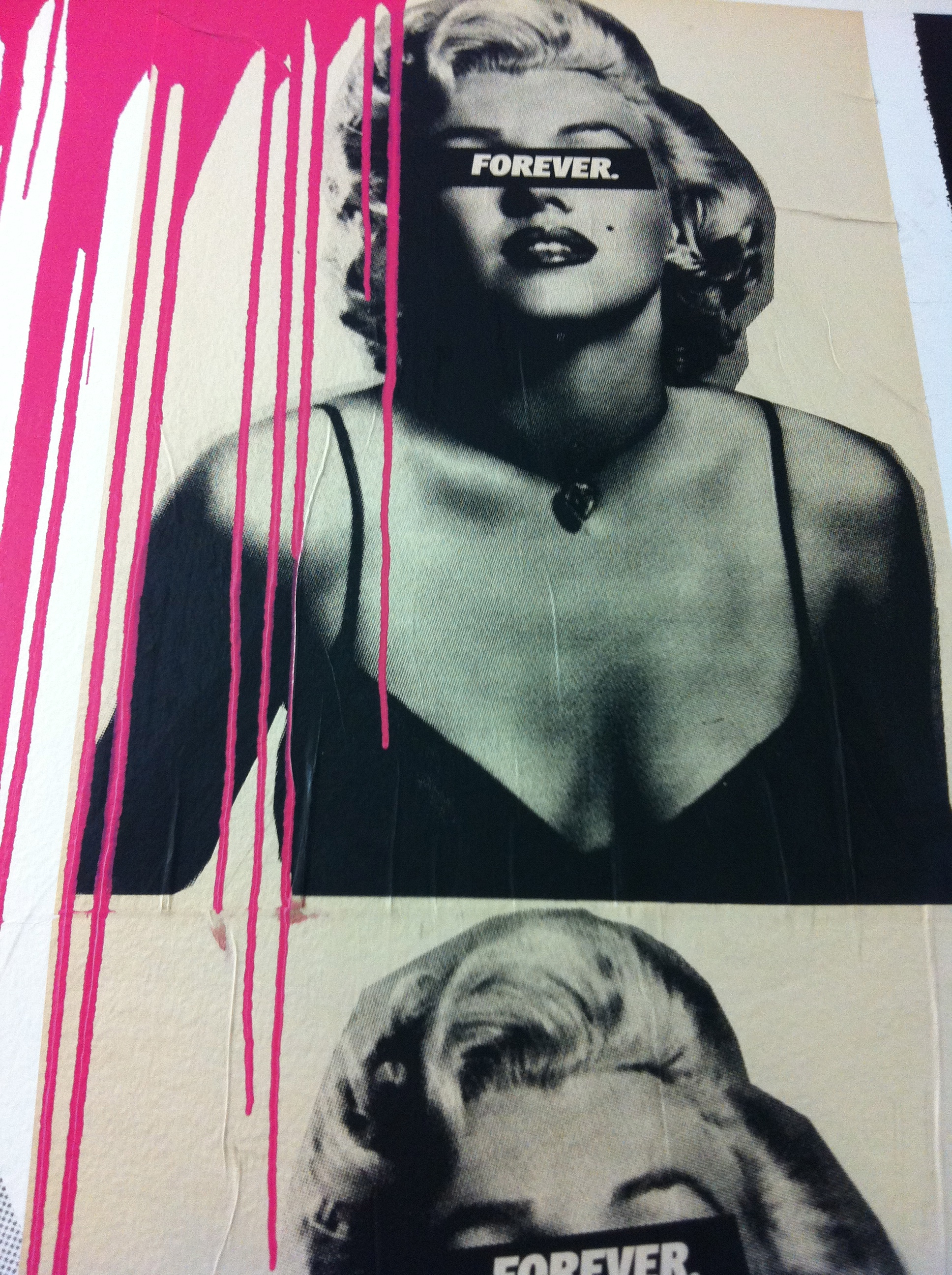 Marilyn Monroe at the Dallas Contemporary