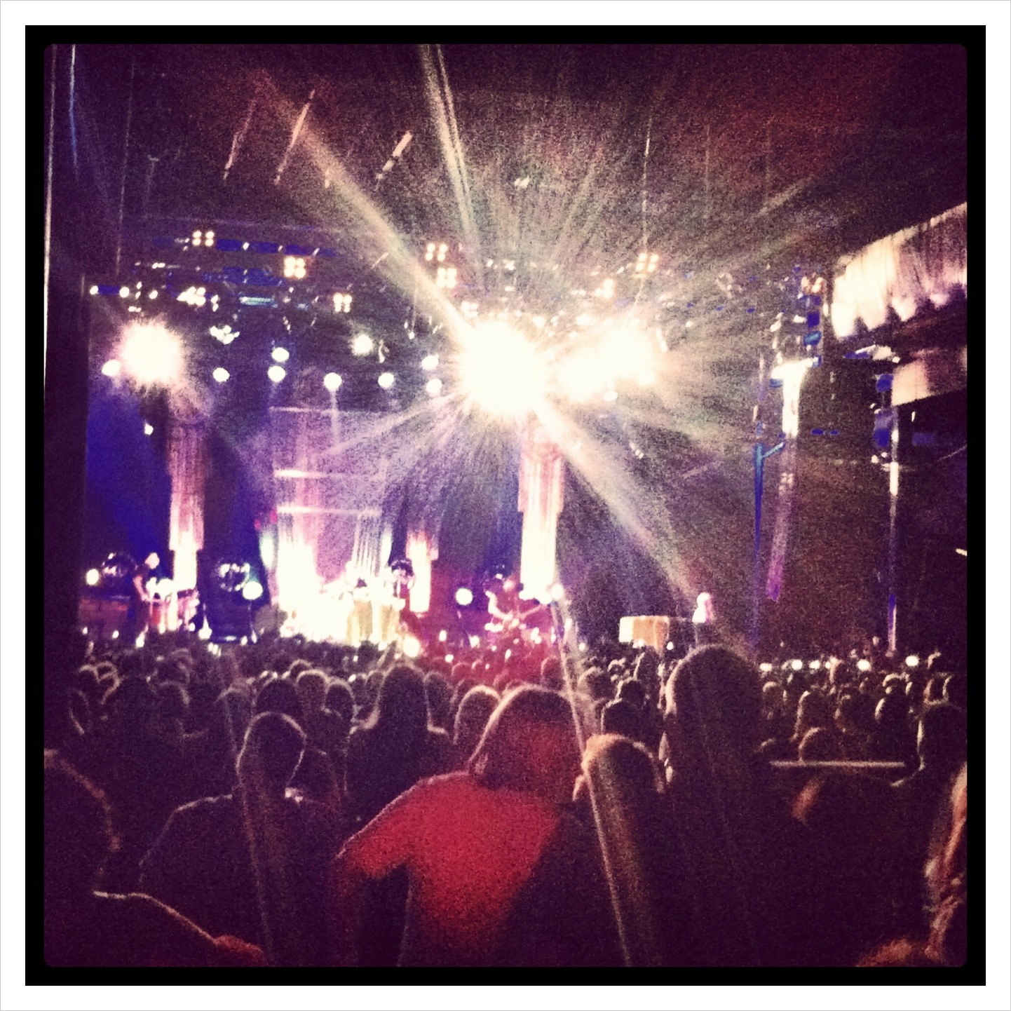 The Palladium Ballroom in Dallas, Texas Florence and the Machine 2012 show