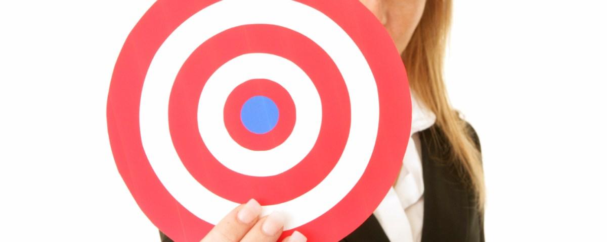 spotlight on marketing holding the target at lyricmarketing.com