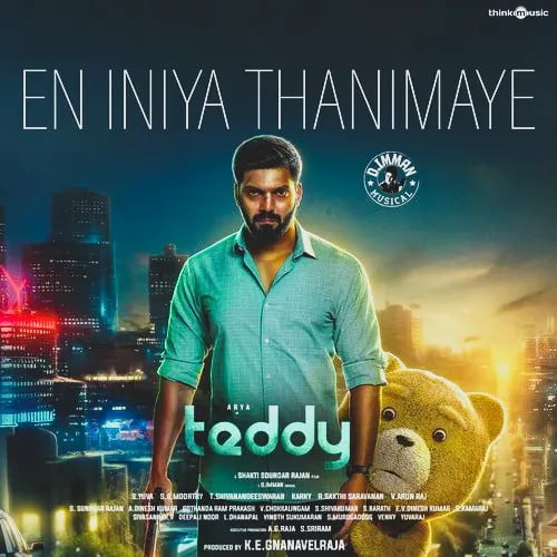 En Iniya Thanimaye Song Lyrics in English - TeddyTamil Lyrics Download in PDF Song Lyrics in English - TeddyTamil Lyrics Download in PDF