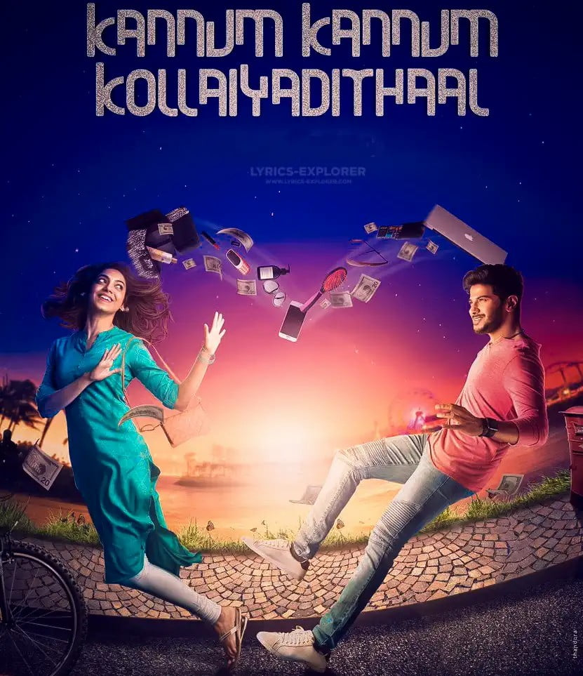 Kanave Nee Naan Song Lyrics in English - Kannum Kannum Kollaiyadithaal tamil (2020) Lyrics Download in PDF