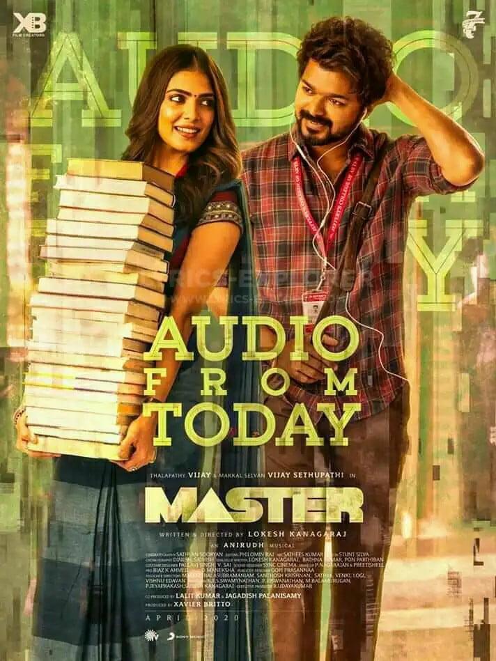 Master Andha Kanna Paathaakaa Song Lyrics in English - Master 2020 Tamil Lyrics Download in PDF