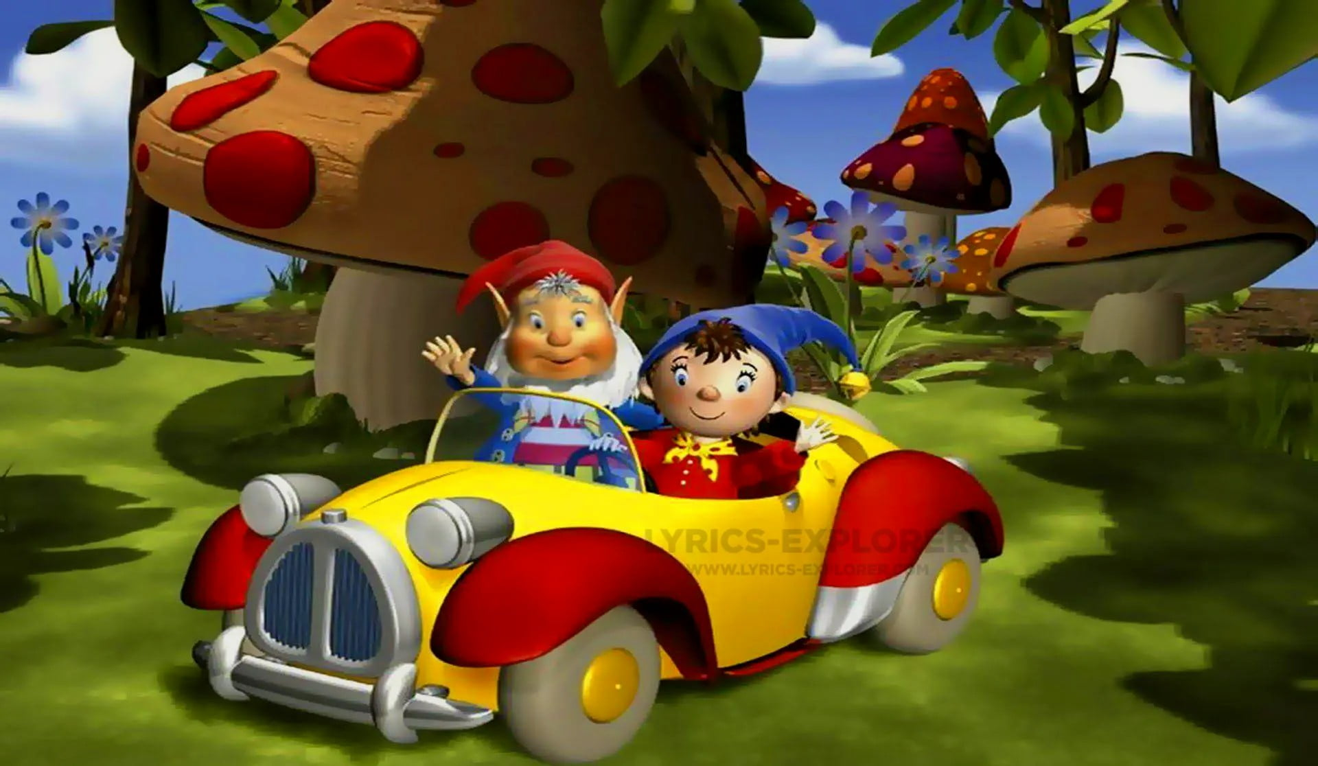 You are currently viewing Noddy title song lyrics in English