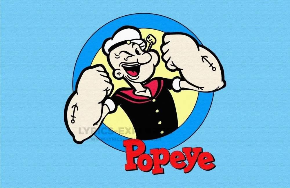 Popeye The Sailor man theme song lyrics