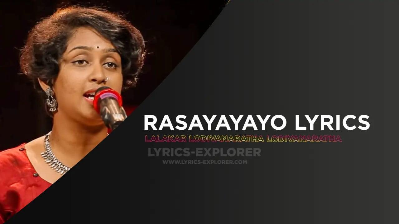 You are currently viewing Rasayayayo Lyrics In English – Storyteller, Download Lyrics in PDF