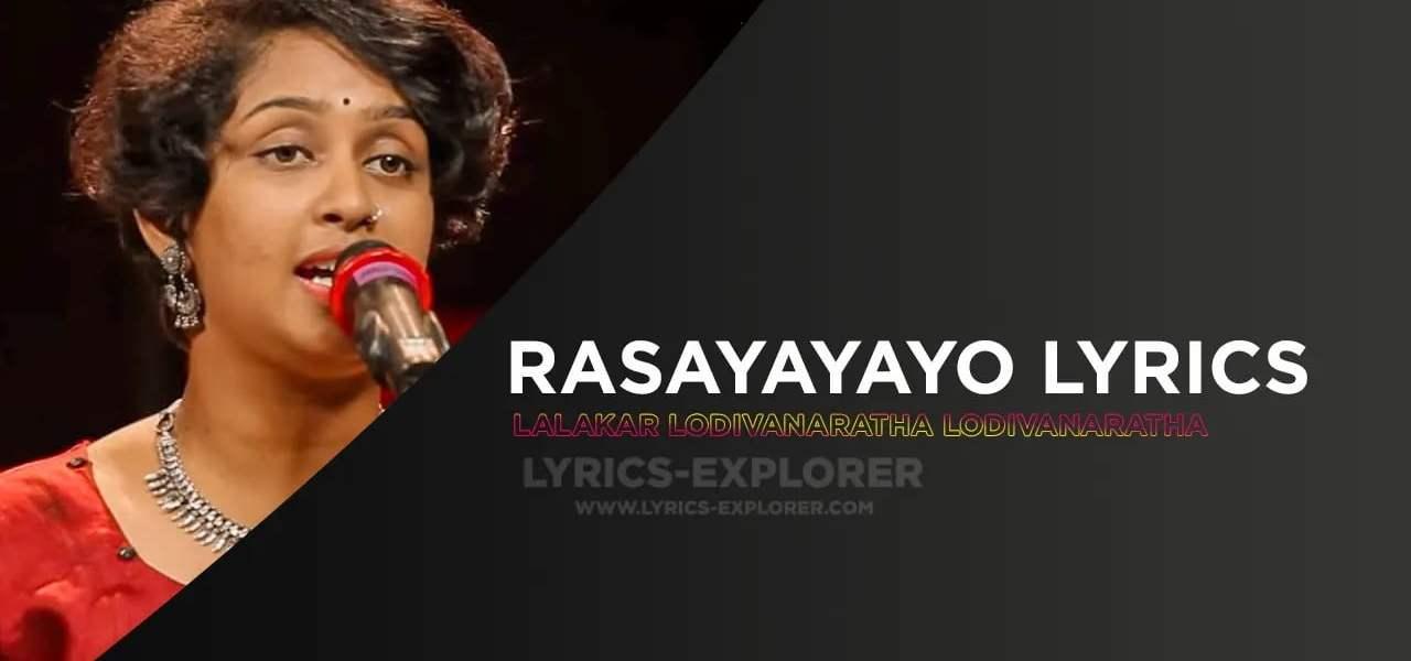 Rasayayayo Lyrics In English - Storyteller, Download Lyrics in PDF
