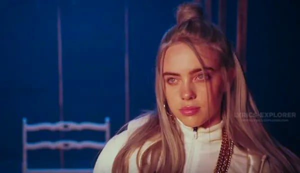 Watch Lyrics in English - Billie Eilish Lyrics