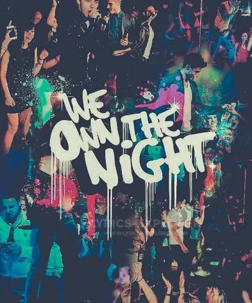 We own the night lyrics in English
