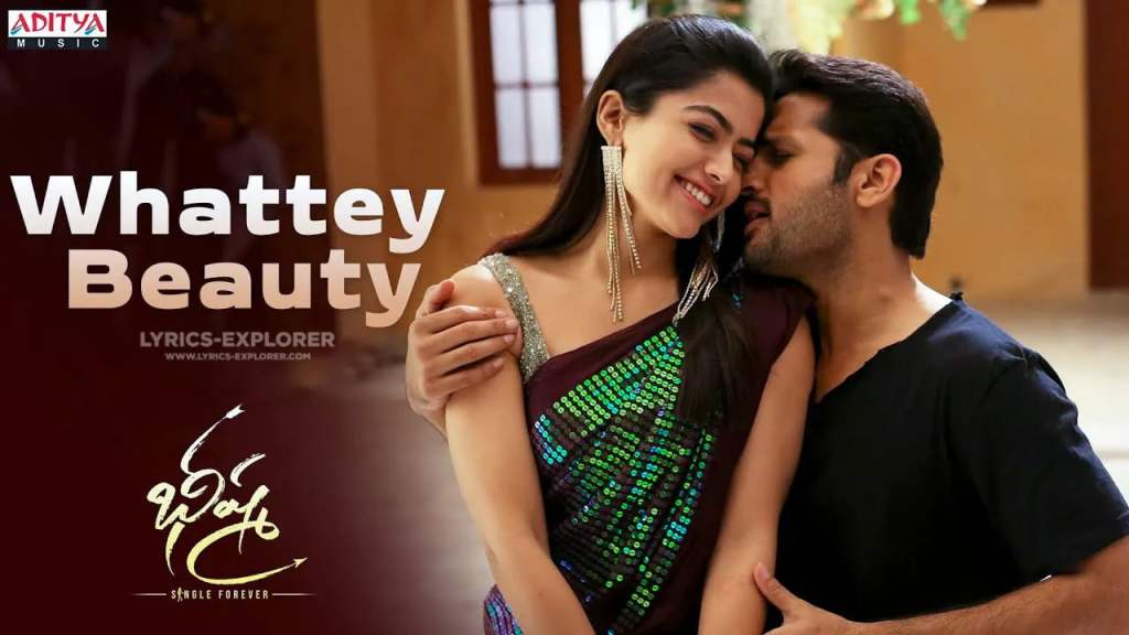 Whattey Beauty Song Lyrics In English - Bheeshma Telugu Lyrics Download in PDF