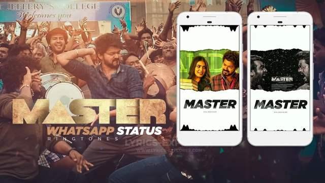 Master tamill WhatsApp status and ringtone - Vijay master 2020