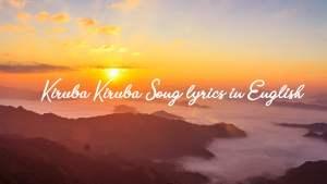 Read more about the article Kiruba Kiruba Song lyrics in English