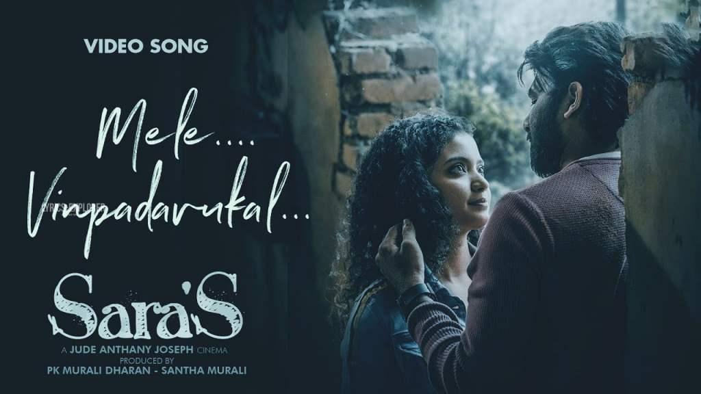 Read more about the article Mele Vinpadavukal Lyrics in English – Sara's lyrics free download