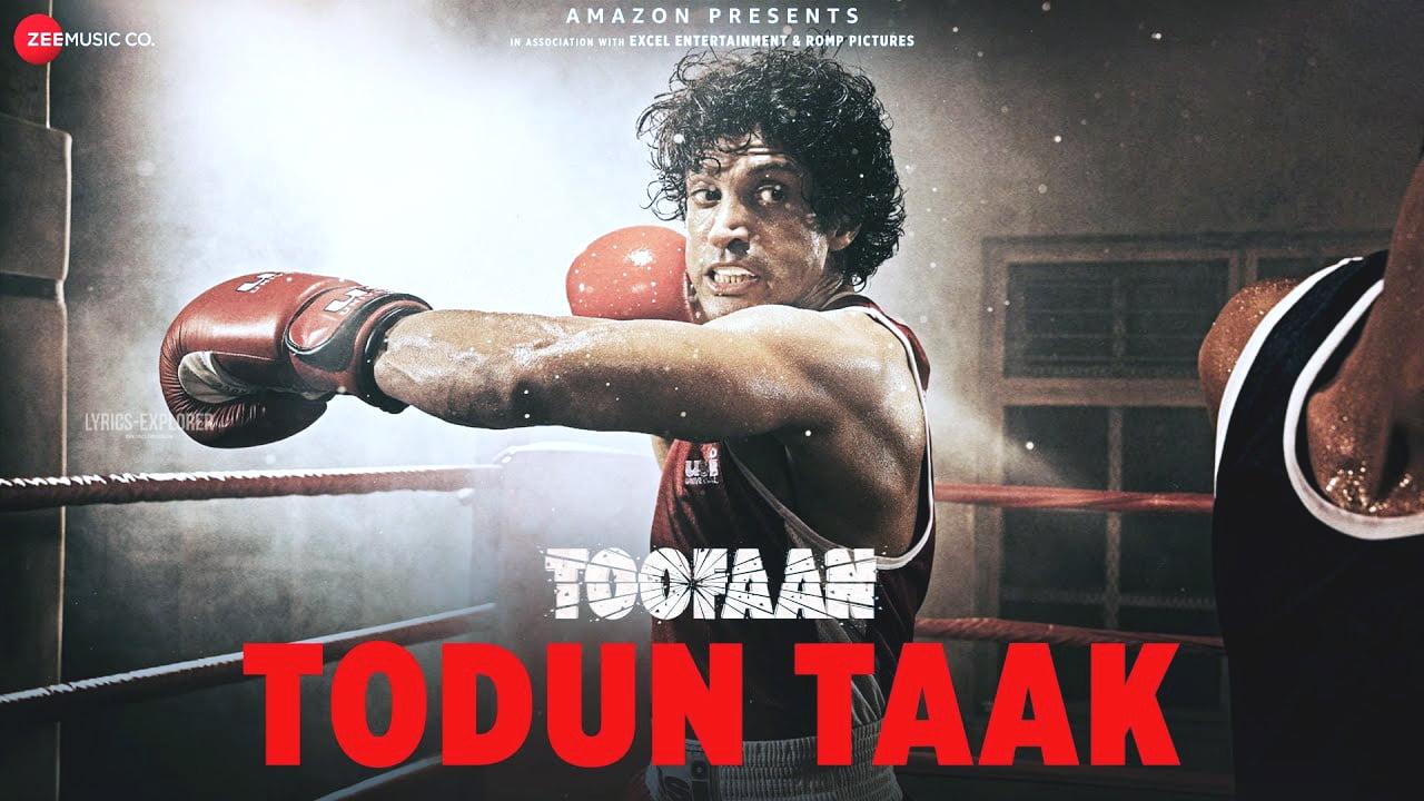 You are currently viewing Todun Taak Lyrics – Toofaan songs lyrics free download