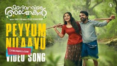 Photo of Peyyum Nilaavu Lyrics | Maniyarayile Ashokan Songs Lyrics