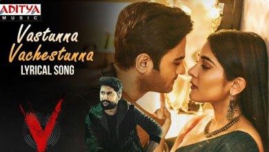 Photo of Vastunnaa Vachestunna Lyrics | V Telugu Movie Songs Lyrics