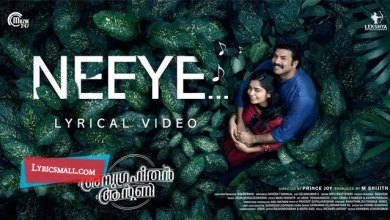 Photo of Neeye Song Lyrics | Anugraheethan Antony Malayalam Movie Songs Lyrics