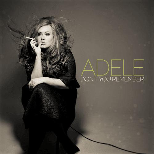 Adele – Don't You Remember Lyrics