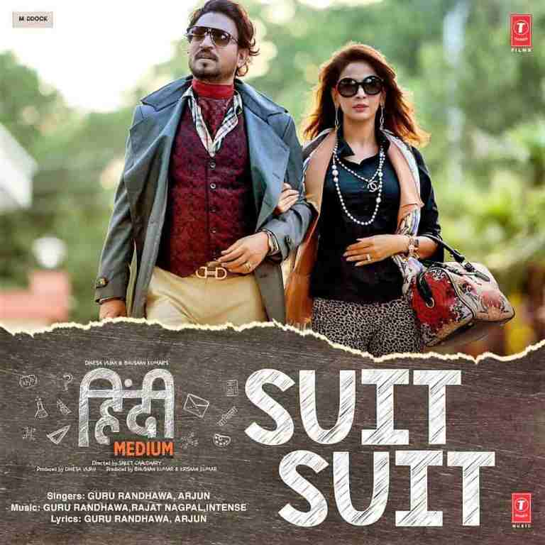 Guru Randhawa Ft.Arjun – Suit  Suit Lyrics