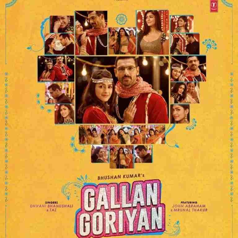 Gallan Goriyan – Dhvani Bhanushali & Taz