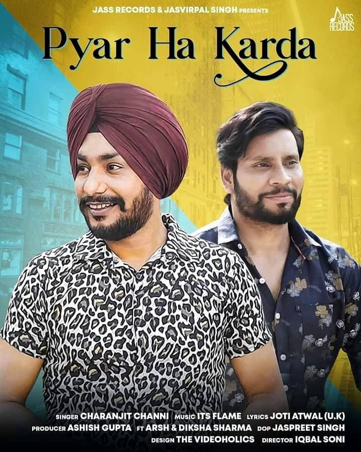 Pyar Ha Karda Lyrics Charanjit Channi