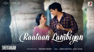 Raataan Lambiyan love songs lyrics